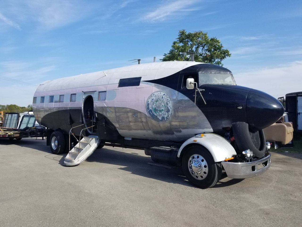 An Air Force Veteran Turned a Troop Transport Plane into an Insane-Looking RV