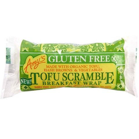 Amy's Gluten-Free Tofu Scramble Breakfast Wrap
