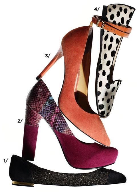 Flats or stilettos? Round toe or pointy? Black or bold?