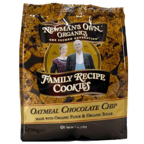 Newman's Own Organics Oatmeal Chocolate Chip Cookies