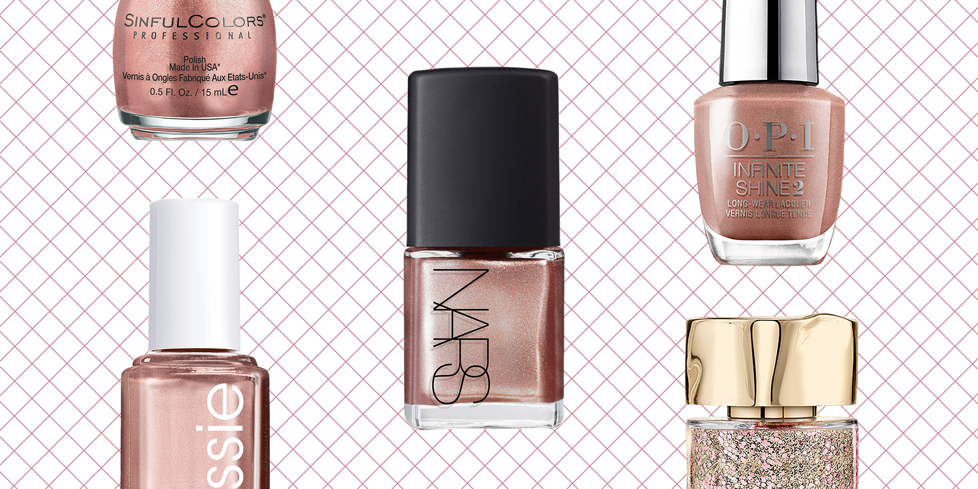 10 Non-Basic Rose Gold Nail Polishes That Are Perfect for a Holiday Party