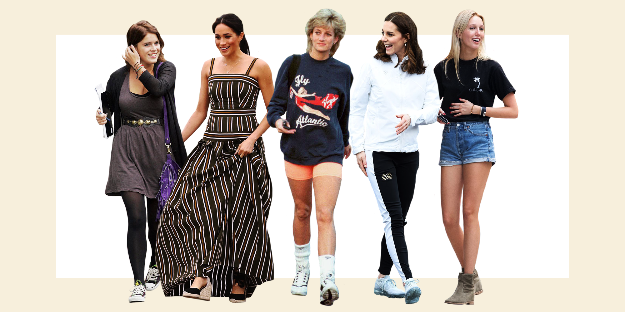 17 Times Royals Dressed Down In The Most Casual Outfits