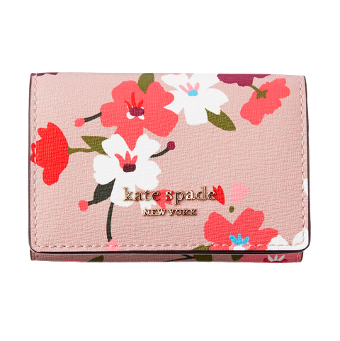 Wallet, Pink, Flower, Plant, Rectangle, Fashion accessory, Petal, Coquelicot, Hibiscus,
