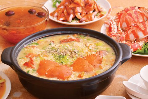 吉林海產店螃蟹粥