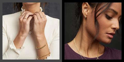 Face, Skin, Neck, Chin, Nose, Jewellery, Cheek, Fashion accessory, Ear, Hand,