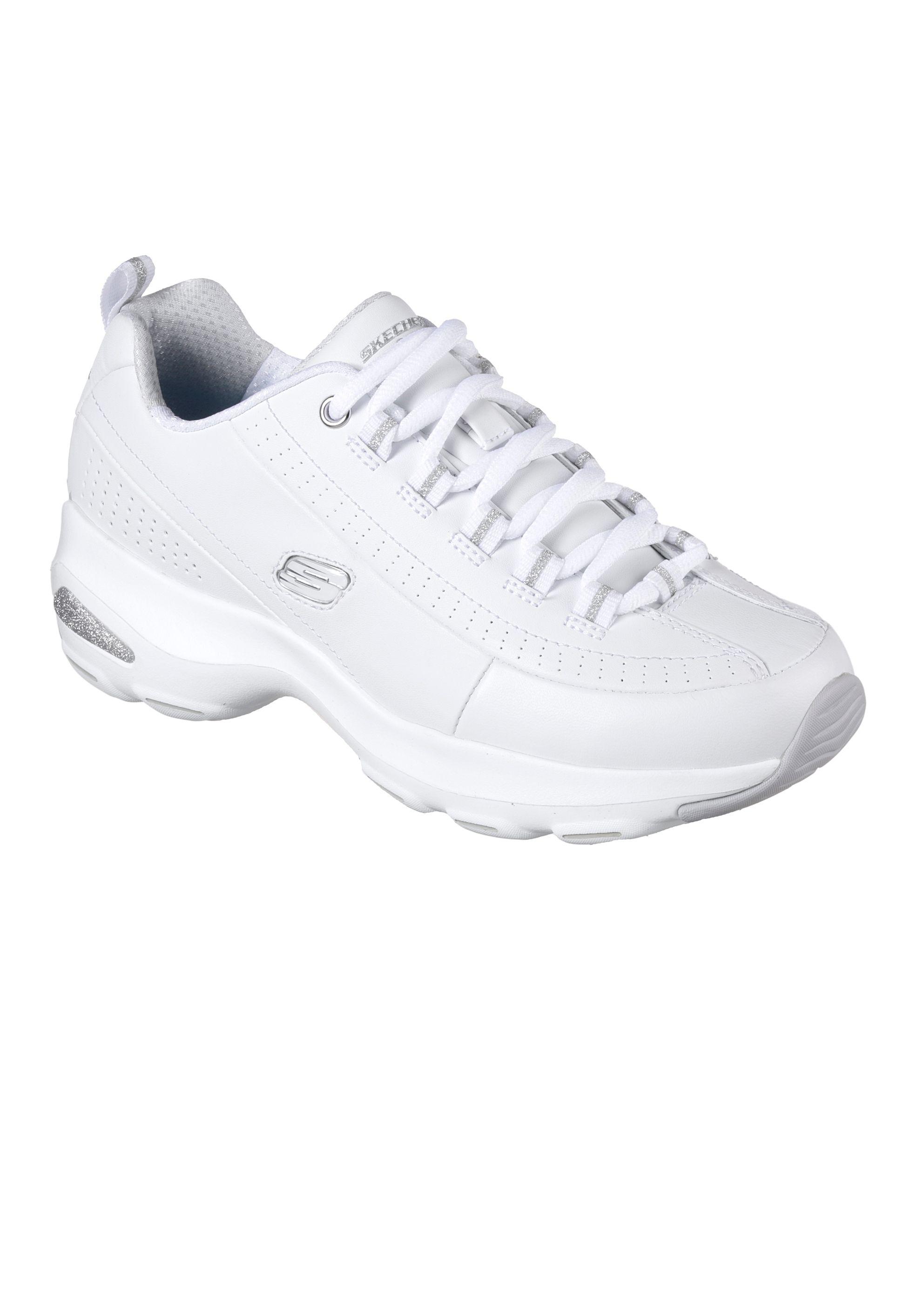 zapatillas skechers mujer verano 2018 blancas