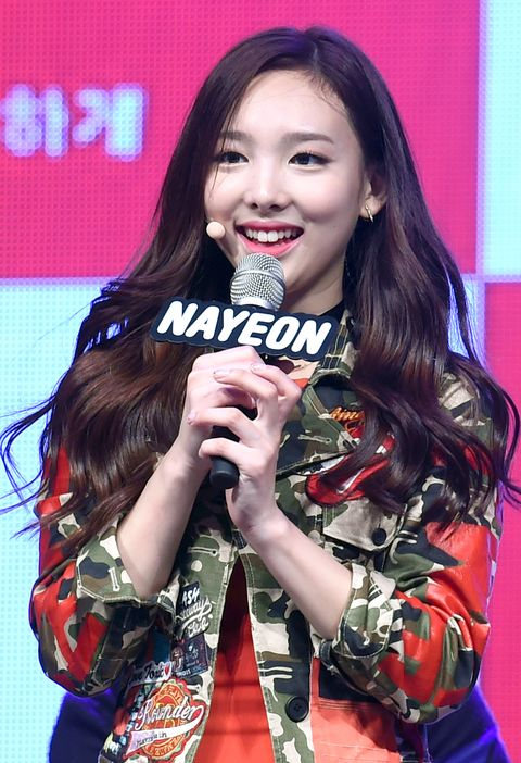 nayeon of twice holds a debut showcase on october 20, 2015 in seoul, south korea 2015 10 20