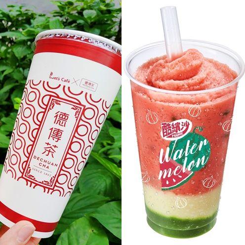 全家,冰品推薦,2019冰品,超商冰品,德傳茶,彈珠汽水霜淇淋,西瓜酷繽沙