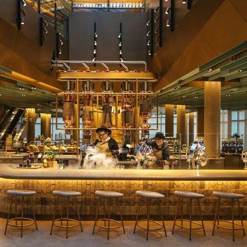 最新美國芝加哥「星巴克臻選烘焙工作坊」內部直擊!全球最大間規模簡直是STARBUCKS博物館
