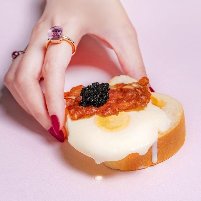 英皇御用caviar house  prunier魚子醬x華人冰王蜷尾家 亞洲首間魚子醬甜點市集