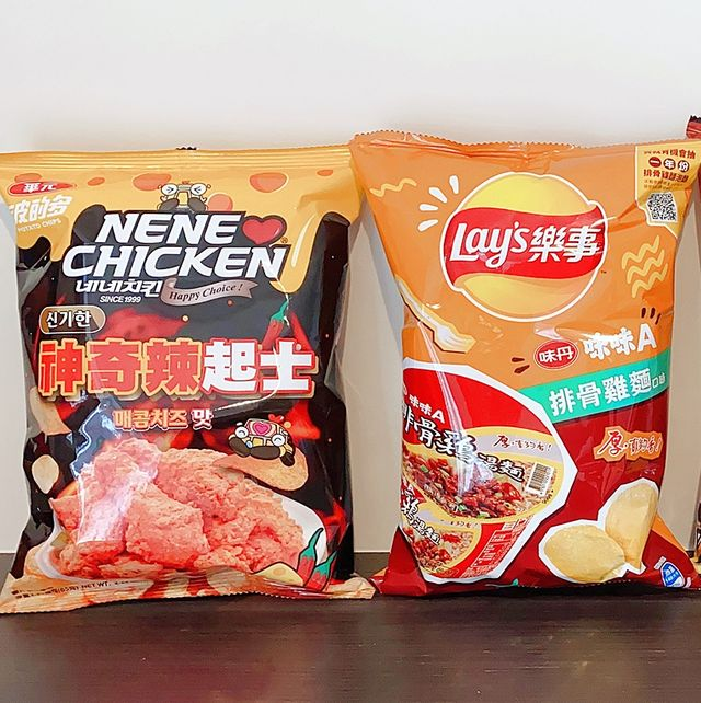 7-ELEVEN餅乾零食推出「雙品牌跨界狂聯名」,包括韓國炸雞名店「NENE CHICKEN X波的多」、「乾杯燒肉X樂事」,「味味A排骨雞麵X樂事」、泰國超夯海苔「小老闆X品客」、「台灣啤酒X可樂果」、「台虎精釀X點心餅」