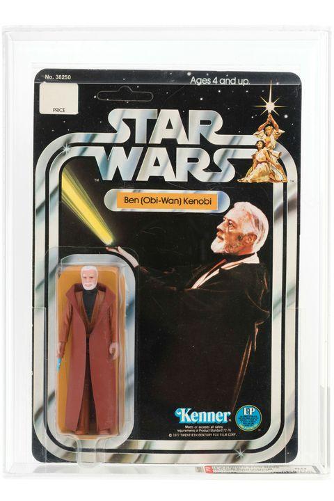 Action figure, Toy, Obi-wan kenobi, Fictional character, Luke skywalker,