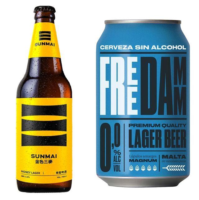 炎炎夏日消暑神器!家樂福熱門啤酒~蜜蜂啤酒、拉脫維亞水果啤酒