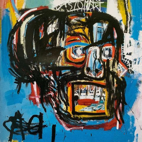 basquiat, untitled, 2017, 1982, jean michel basquiat, new york