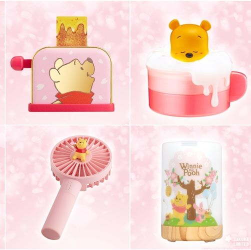7-ELEVEN,小熊維尼,櫻花季,3C,迪士尼,Winnie the Pooh,Pooh,Pooh Bear