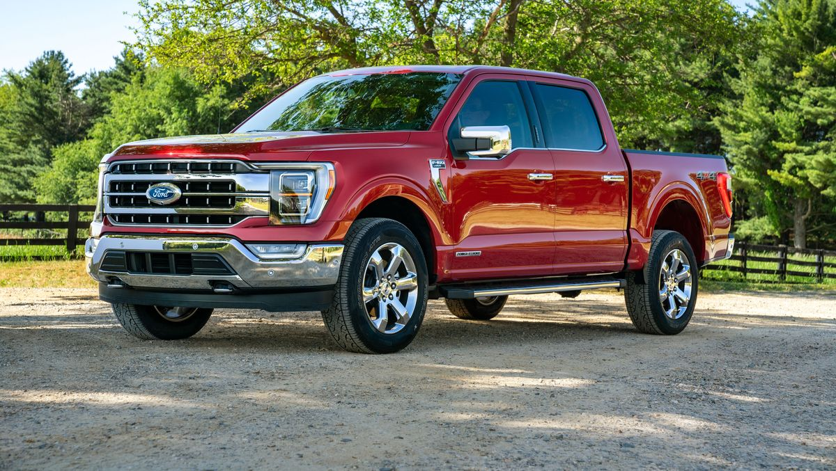 2021 Ford F-150 Front Exterior