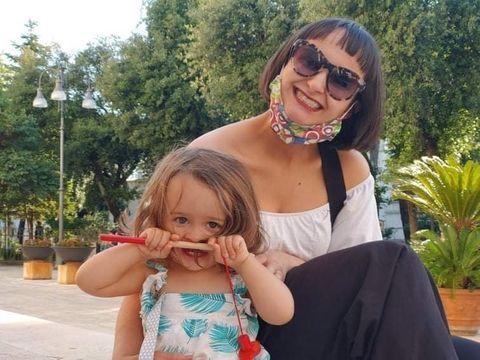 caroline and her daughter