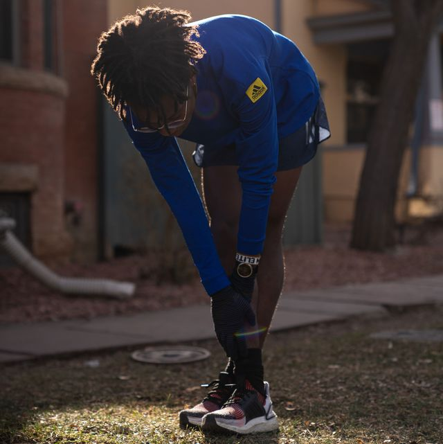 running stretches