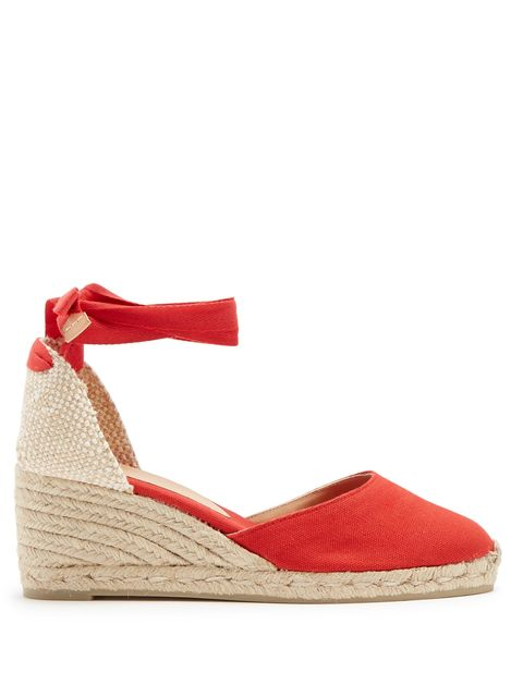 Castaner wedges red