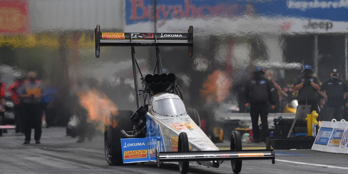 Tony Schumacher's Win at Houston Throws Wrinkle in NHRA Home Stretch