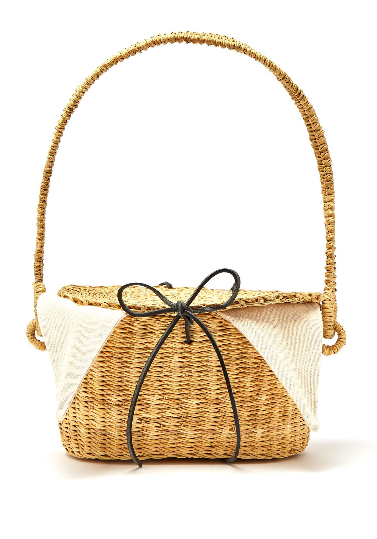 Munn straw bag