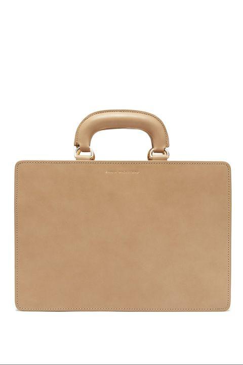 Emilia Wickstead leather briefcase bag