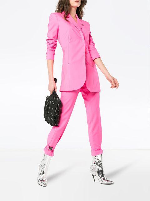 Alyx roze mannenpak