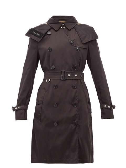 Clothing, Trench coat, Coat, Outerwear, Overcoat, Sleeve, Duster, Collar,