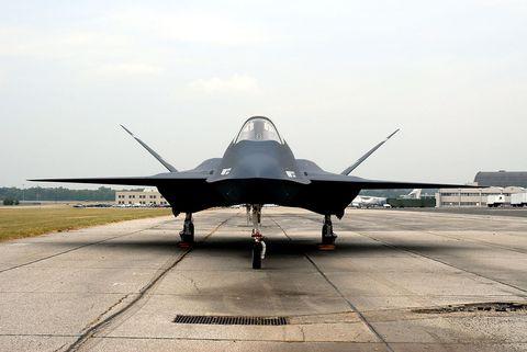 Aircraft, Airplane, Vehicle, Aviation, Air force, Military aircraft, Aerospace manufacturer, Lockheed martin f-22 raptor, Lockheed martin f-35 lightning ii, Fighter aircraft,