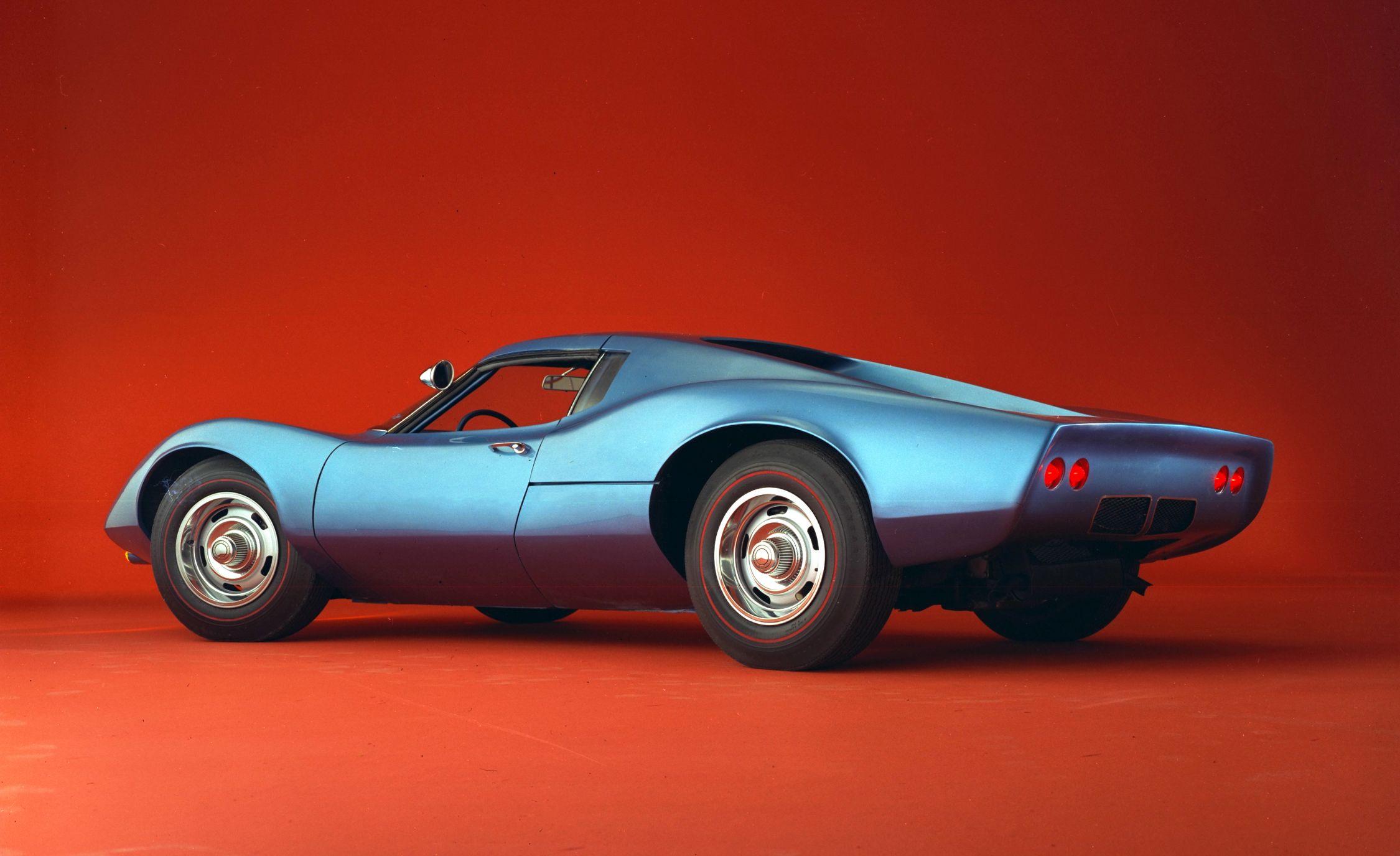 1960s Chevrolet Mid Engine Corvette concept