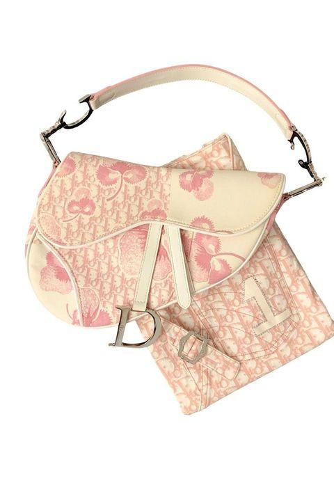 john galliano, dior, saddle bag, monogram, bag, purse, clutch