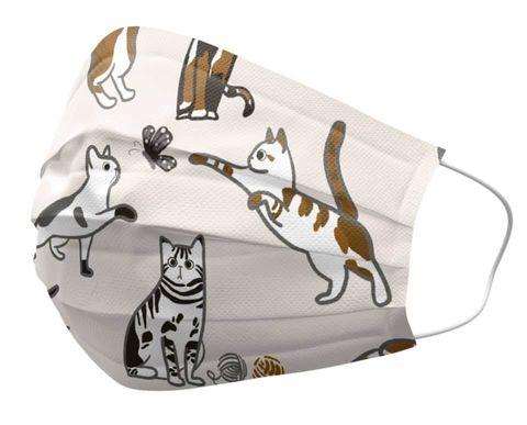 貓奴不能沒有!《優美特》貓咪口罩虎斑、黑貓萌到融化,「隔壁的貓」、「我家小捲」開賣啦