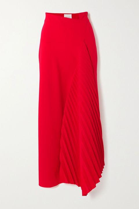 Textile, Red, Carmine, Magenta, Maroon, Costume, Waist, Fashion design, Coquelicot, Pocket,