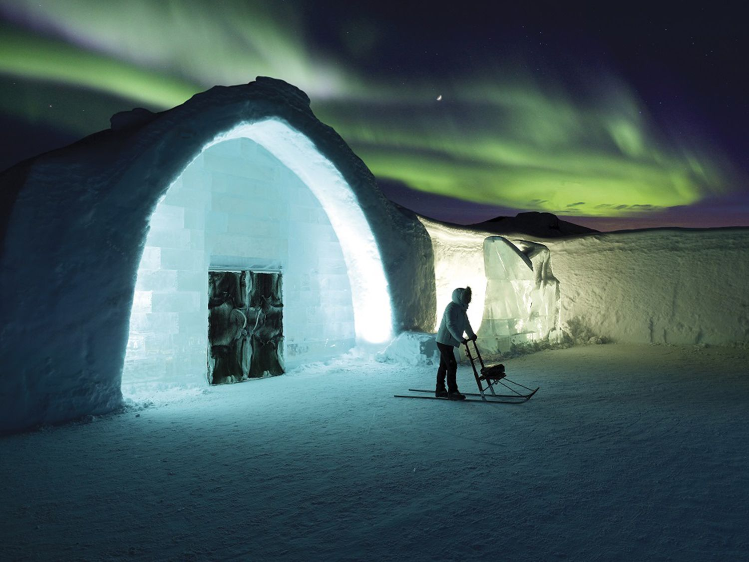 Stay at the world's most unusual hotel on our exclusive tour of Swedish Lapland