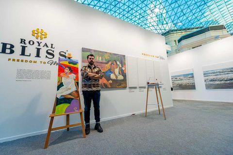 Art gallery, Visual arts, Exhibition, Art exhibition, Design, Art, Tourist attraction, Room, Architecture, Event,