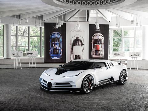 Bugatti Reveals $9 Million 1600-HP Cento Dieci at Pebble Beach