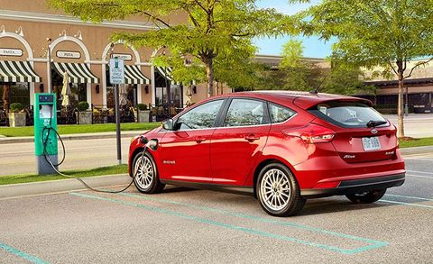 2017 Ford Focus Electric Gets Longer Range And Fast Charging
