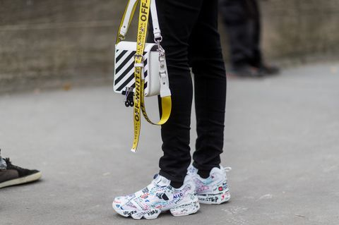 8e72ec489 Dad Sneakers Trend - Kendall Jenner and Bella Hadid Show How to Wear ...
