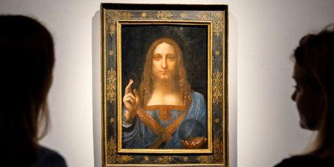 Da Vinci Record Painting Auction Salvator Mundi