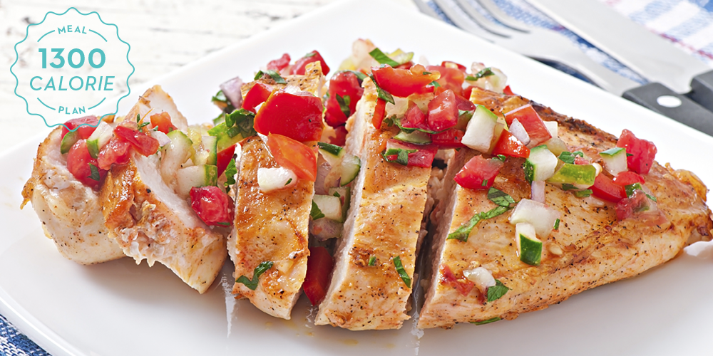 1130 calorie diet plan