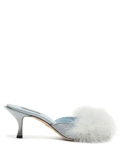Footwear, Slingback, High heels, Turquoise, Shoe, Bridal shoe, Sandal, Court shoe, Turquoise, Beige,