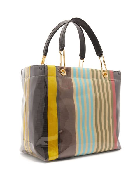 Handbag, Bag, Tote bag, Yellow, Fashion accessory, Brown, Shoulder bag, Beige, Luggage and bags, Material property,