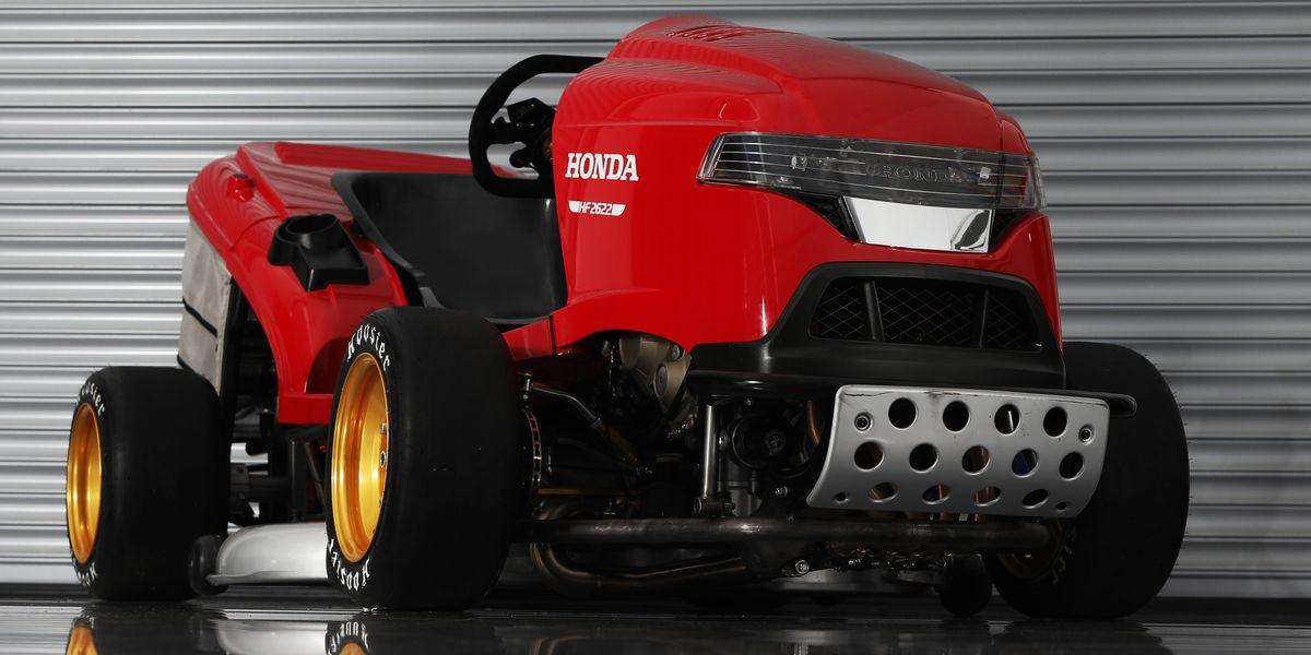 Car Auction Apps >> Meet Honda's New Fire-Spitting 150-MPH Lawn Mower