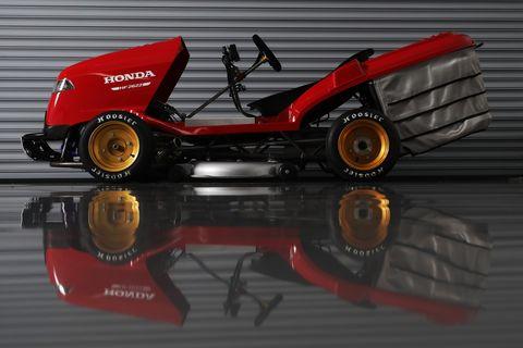 Meet Honda's New Fire-Spitting 150-MPH Lawn Mower