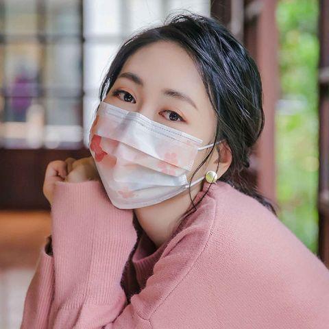 超唯美「日式印花口罩」!富士山、經典菊紋、河津櫻變成醫療口罩圖紋