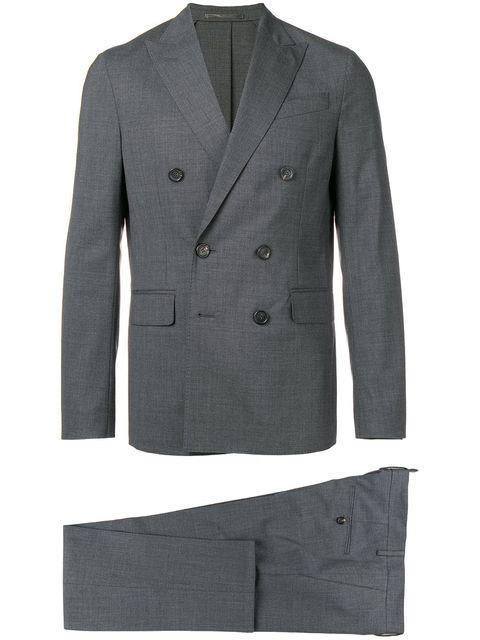 traje cruzado doble botonadura dsquared2