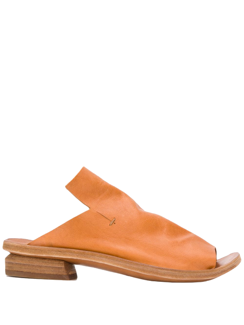 Footwear, Tan, Orange, Slingback, Shoe, Brown, Leather, Beige, Slipper, Sandal,