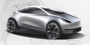 Tesla Model C - boceto