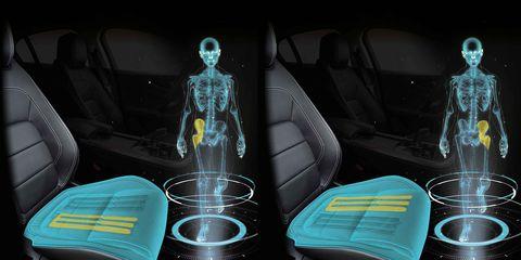 Asientos que caminan por ti - Jaguar-Land Rover