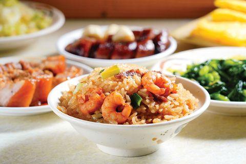 台南好地方蝦仁肉絲飯